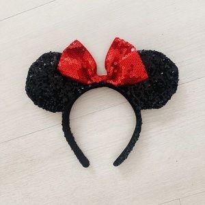 Sequin Disney Minnie Mouse Ears Headband